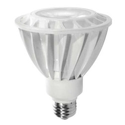 TECHNICAL CONSUMER PRODUCTS - LED 14W Dim Par30 Narrow Flood - 14 Watt LED par lamp replace 75 Watt with at least 80% energy savings. These lamps dim from 100% to 0% and have excellent light quality. They have long life that is at least 12 times longer than halogen replacement.