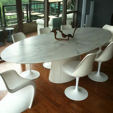 Modern Dining Tables by Artisan Group Stone and Wood Countertops