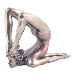 US - 4.5 Inch Figure Woman performs Yoga Locust Position Keepsake Display - This gorgeous 4.5 Inch Figure Woman performs Yoga Locust Position Keepsake Display has the finest details and highest quality you will find anywhere! 4.5 Inch Figure Woman performs Yoga Locust Position Keepsake Display is truly remarkable.