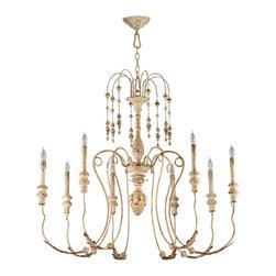 Cyan Design - Cyan Design Lighting 04638 Maison 8-Light Chandelier - Cyan Design 04638 Maison 8-Light Chandelier