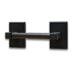 Residential Essentials - Black Hamilton Standard Holder(RE2508BK) - Black Hamilton Standard Holder