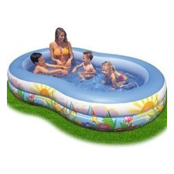 Intex - Swim Center Paradise Seaside Pool - Swim center paradise seaside pool is ideal for kids to beat the summer heat