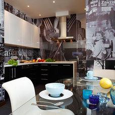 Modern Kitchen by Natalia Skobkina