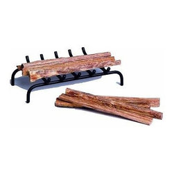 "Uniflame - Mini Fireplace Grate - Fires are generally easiest started with brittle dry wood.  Wide pieces of wood with a thin depth are typically very quick to dry because of their increased surface area, and this makes them ideal for firewood.  This particular grate is specially designed to handle such types of pieces of wood in a wood burning fireplace.  This top-quality Mini Fireplace Grate was designed to fit small, coal burning size fireplaces but also works well with small logs and kindling.  This mini fireplace grate was designed specifically for fitting into small coal burning fireplaces. * Fits small, coal burning size fireplaces. 1"" H x 7"" W x 8 3/8"" L. 1 lbs"