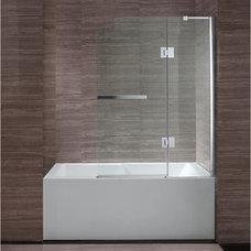 "New Waves Clark 40"" Bathtub Screen"