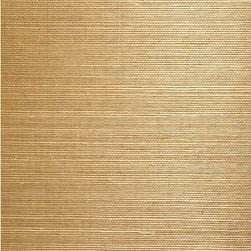 Chang Taupe Grasscloth Wallpaper - Craving a natural look for walls? This grasscloth wallpaper adds an intriguing texture with eco-chic materials in a soft flaxen beige.