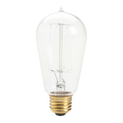 Kichler Antique Light Bulb Incandescent - Clear - Antique Light Bulb Incandescent