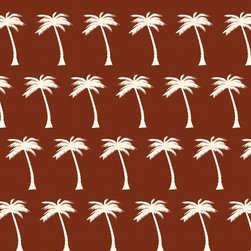 Murals Your Way - Palm Tree Breeze Wall Art - Painted by Simon & Kabuki, Palm Tree Breeze wall mural from Murals Your Way will add a distinctive touch to any room