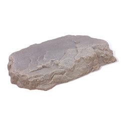"Dekorra - Fake Rock Septic Cover-Model 108, Riverbed - 31""L x 27""W x 6""H; 6 lbs"