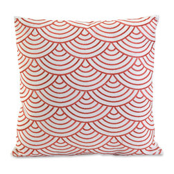 Imax - Koyna Pink White Embroidered Accent Throw Pillow Cotton Decor - Koyna pink white embroidered accent throw pillow cotton decor Imax 97188