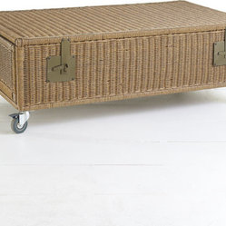 Wicker Trunk Coffee Table