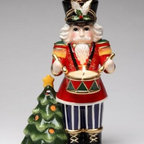 CG - Nutcracker Playing Drums by Christmas Tree Tea Light Candle Holder - This gorgeous Nutcracker Playing Drums by Christmas Tree Tea Light Candle Holder has the finest details and highest quality you will find anywhere! Nutcracker Playing Drums by Christmas Tree Tea Light Candle Holder is truly remarkable.