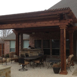 Shop Rustic Gazebos Canopies On Houzz