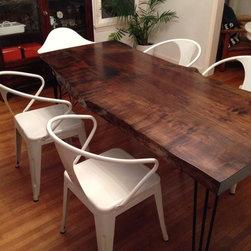 Maple Slab Table -