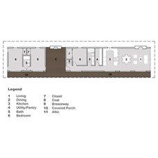 Modern Floor Plan by Houseplans.com