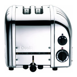 Dualit - Dualit 2-Slice Toaster Chrome - The Dualit Classic NewGenToaster combines simplicity and sophistication perfectly.