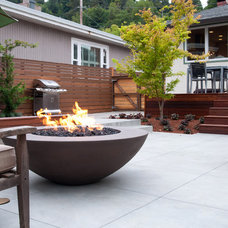 Contemporary Outdoor Products by Concrete Creations