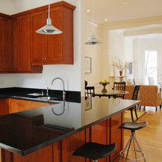 Contemporary Family Room by Lim Design Studio, Inc