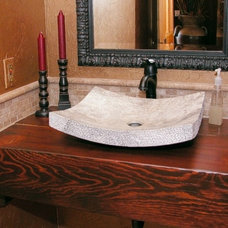 Traditional Powder Room by Interior Expressions