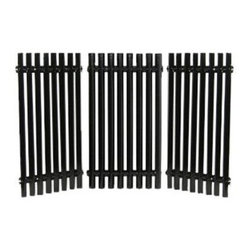 "Music City Metals - Porcelain Steel Channels Cooking Grid - Porcelain steel channels cooking grid, 16.8125"" x 28.3125""; Charbroil 463440109; 3-piece set. Replacement part for propane gas BBP and barbeque grills."