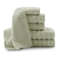 BALTIC LINEN COMPANY INC - Baltic Linen Company Pure Elegance 6 Piece Luxury Turkish Cotton Towel Set - 353 - Shop for Towels from Hayneedle.com! The fashionable Baltic Linen Company Pure Elegance 6 Piece Luxury Turkish Cotton Towel Set includes two pairs of bath towels hand towels and washcloths for your master bathroom. Each towel is made from 100% Turkish cotton that's plush and absorbent at 780 GSM. Your all-new 6 piece set comes in a variety of color options to complement your decor and while they certainly have a delicate feel they are actually designed to be machine washed and dried with like colors for hassle-free upkeep!Additional InformationOversized bath towel: 30 x 54 in.Hand towel: 16 x 28 in.Washcloth: 13 x 13 in.About Baltic Linen CompanyBaltic Linen has been a family owned company for over 74 years! What started as a humble maker of handmade bedding and bathroom products has grown into a fruitful business that serves department stores specialty stores and mass retailers the world over with its four expansive divisions of operation. There's Home Fashions Hospitality Textile Rental and Healthcare all of which manufacture and supply goods that are crafted with the best materials and an eye toward the latest fashions. Only individuals from the top design and fashion schools with years in the industry make it into Baltic Linen's in-house design team who strive to achieve the look of today's top trends in products that fit any budget. You'll want to decorate your entire home in the latest and greatest items from Baltic Linen Company!