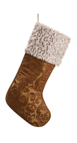 Silk Plants Direct - Silk Plants Direct Damask Sequin Fur Stockings, Set of 8 - Pack of 8. Silk Plants Direct specializes in manufacturing, design and supply of the most life-like, premium quality artificial plants, trees, flowers, arrangements, topiaries and containers for home, office and commercial use. Our Damask Sequin Fur Stocking includes the following: