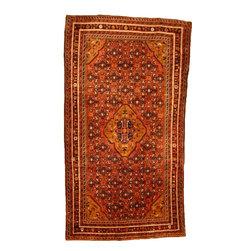 eSaleRugs - 5' 5 x 9' 8 Hossainabad Persian Rug - SKU: 110900673 - Hand Knotted Hossainabad rug. Made of 100% Wool. 30-35 Years.