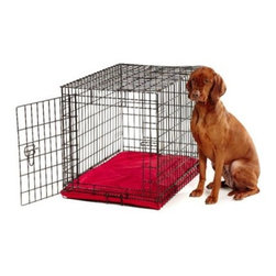 Bowsers Platinum Series All Weather Dog Crate Bed - Your dog deserves the best, and the Bowsers Platinum Series All Weather Dog Crate Bed gives them an unmatched comfort in or out of the crate. It's upholstered in a 'hydrotuff' nylon that not only repels moisture but dirt and hair as well. Cradling your dog like nothing else, this bed is stuffed with orthopedic foam that's very durable. When it's time for a wash, you can easily unzip the cover and toss it in the machine. Choose from these sizes: Extra-small dog bedDimensions: 24L x 18W x 2H inchesRecommended weight: Up to 15 lbs.Small dog bedDimensions: 30L x 21W x 2H inchesRecommended weight: Up to 25 lbs.Medium dog bedDimensions: 36L x 24W x 2H inchesRecommended weight: Up to 45 lbs.Large dog bedDimensions: 42L x 28W x 2H inchesRecommended weight: Up to 80 lbs.Extra-large dog bedDimensions: 48L x 30W x 2H inchesRecommended weight: Up to 150 lbs.