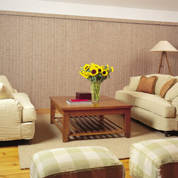 Vertical Blinds - Vertical Blinds used to Cover massive patio windows.  Available at Budget Blinds.