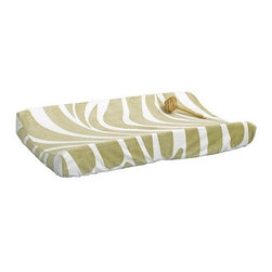 CoCaLo Noah and Friends Changing Pad Cover - A patterned changing pad cover brings in pattern and color to the nursery. I'd buy two — one for the pad and one for backup.