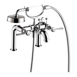 Hansgrohe - Hansgrohe 16552001 Axor Montreux Rim-Mounted Tub Filler with Lever Handles - Product Features