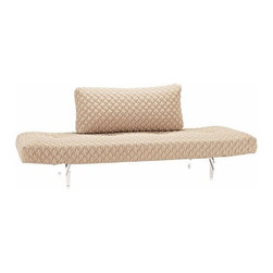 Innovation USA - Zeal Coz Daybed, Chrome Base - Quickship | Innovation USA - Design by Per Weiss, 2013.