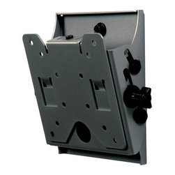 """Peerless - SmartMount Wall Mount 10 to 24"""" - ST630: The SmartMount Universalersal tilting wall mount supports virtually any 10"""" to 24"""" flat panel. The tilting wall plate keeps the screen close to the wall for a very discreet installation that is perfect for digital signage POS stations or office applications."""