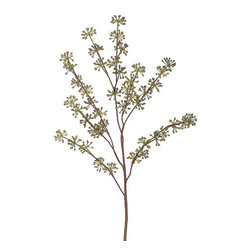 Silk Plants Direct - Silk Plants Direct Eucalyptus Seed (Pack of 12) - Silk Plants Direct specializes in manufacturing, design and supply of the most life-like, premium quality artificial plants, trees, flowers, arrangements, topiaries and containers for home, office and commercial use. Our Eucalyptus Seed includes the following: