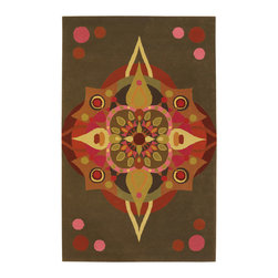 "Emma At Home EMM19917 Designer Rug - 5' x 7'6"" - Award-winning designer Emma Gardner, chief designer and principal at emma gardner design, has been creating striking and vibrant rugs for consumers, interior designers and architects since 2002 from her Litchfield, Connecticut studio."
