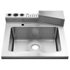 Contemporary Kitchen Sinks by Rebekah Zaveloff | KitchenLab
