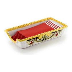 Artistica - Hand Made in Italy - Deruta Vario: Guest Towel Holder - Deruta Vario VR4
