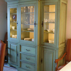 Mediterranean China Cabinets And Hutches by Paravan Wood Design
