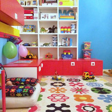 Contemporary Kids play room