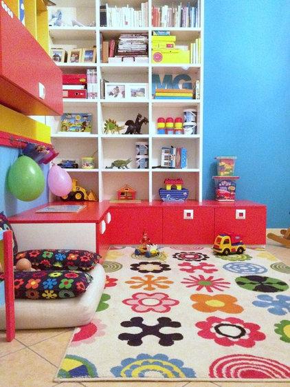 Contemporary Kids play room
