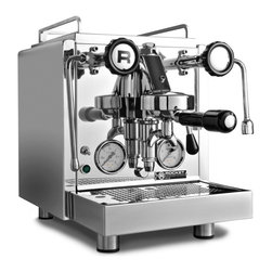 Rocket Espresso - Rocket Espresso R58 V2 Prosumer Espresso Machine - Incorporating feedback from their best customers, Rocket Espresso introduces the next iteration of their famous R58 espresso machine, the R58 V2. The Rocket Espresso R58 semi-automatic espresso machine created a stir among savvy consumers around the world in 2012, with its dual-boilers and dual PID temperature control sensors. Rocket Espresso has always used commercial components and technically meticulous construction and continues that tradition with the R58.