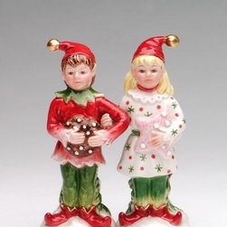 ATD - Festive Multi Colored Sugar Plum Elves Salt and Pepper Shaker Set - This gorgeous Festive Multi Colored Sugar Plum Elves Salt and Pepper Shaker Set has the finest details and highest quality you will find anywhere! Festive Multi Colored Sugar Plum Elves Salt and Pepper Shaker Set is truly remarkable.