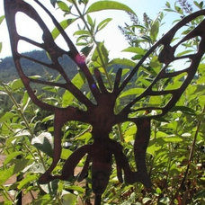 Eclectic Garden Statues And Yard Art by Etsy