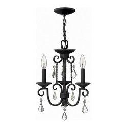 Hinkley Lighting - Hinkley Lighting 3503OL Casa Olde Black 3 Light Chandelier - Hinkley Lighting 3503OL Casa Olde Black 3 Light Chandelier