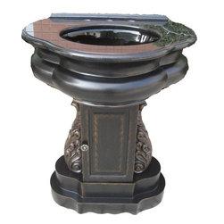 Classic Design - Verona Pedestal Sink - Verona Pedestal Sink. Dimensions: 29 in. x 21 in. x 36 in.