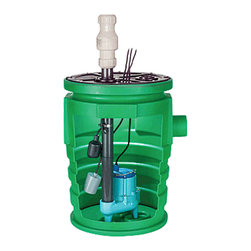 "Little Giant - Little Giant 9S-Smpx-Lg1A Simplex Sump Pump Package - Little Giant 9S-Smpx-Lg1A Is 20"" X 30"" Poly Basin, 1 Piece Cover And Pump. This Package Is Ideal For Collection Of Sewage, Effluent, Drainage And Seepage Water. Suitable For Homes, Farms, Light Commercial And Industrial Use. Packaged Unit Is Provided ""Unassembled"" With All Components Inside Of Basin."