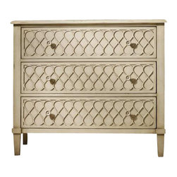 Hooker Furniture - Hooker Furniture Melange Raised Lattice Front Chest - Hooker Furniture - Chests - 63885017 - Come closer to Melange and you will discover something unexpected an eclectic blending of colors textures and materials in a vibrant collection of one-of-a-kind artistic pieces.