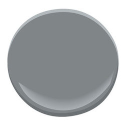 Englewood Cliffs 1607 Paint - A mid-tone gray with a generous dose of purple, this earthy shade evokes a hike along rocky cliffs.