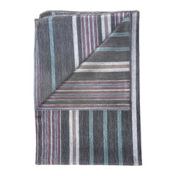 Shupaca - Blanket, Blackberry - All-natural, 100% hypo-allergenic, lightweight and extremely warm. Made from South American Alpaca fibers giving it a silky feel that is luxuriously soft and comfortable. Delicate Wash or Dry clean. Color: Multi-color, Wine, Berry Blue, Tan, Charcoal. Made in Ecuador.