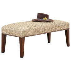 Tropical Upholstered Benches by Cymax